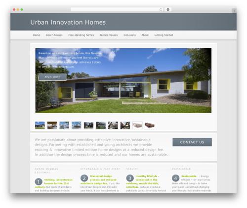 WordPress theme Modular - urbaninnovationhomes.com.au