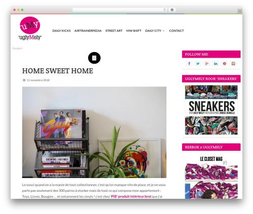 WordPress website template Keilir by Bluth Company - uglymely.com