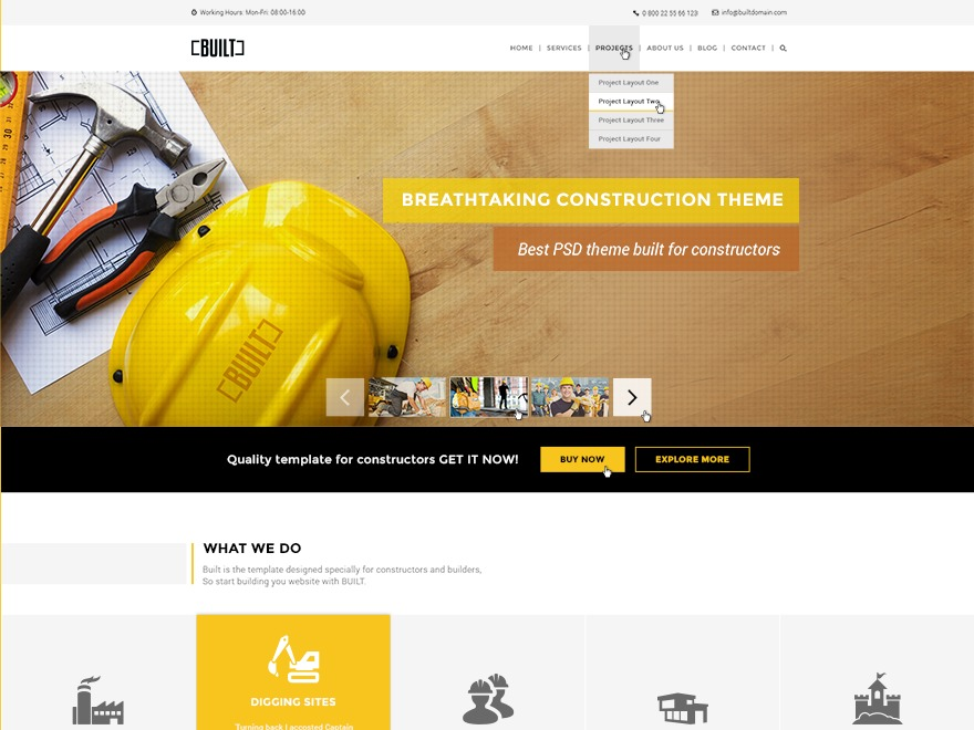 WP Built best WordPress magazine theme