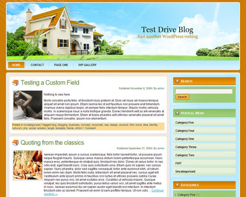 wp_real_estate WordPress website template