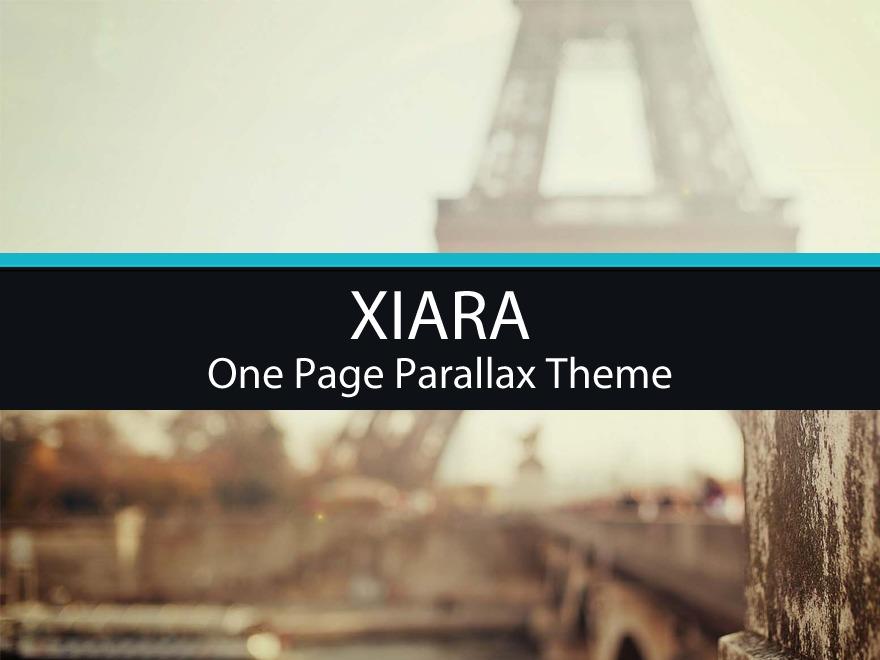 Xiara theme WordPress