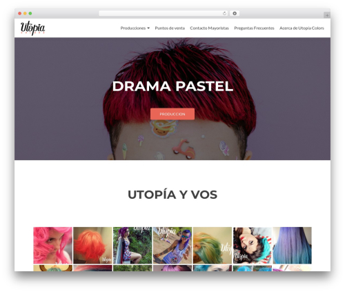 Zerif Lite free website theme - utopiacolors.com