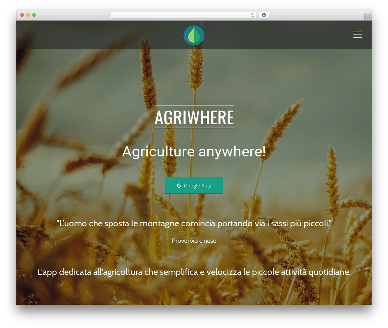Applay top WordPress theme - agriwhere.com