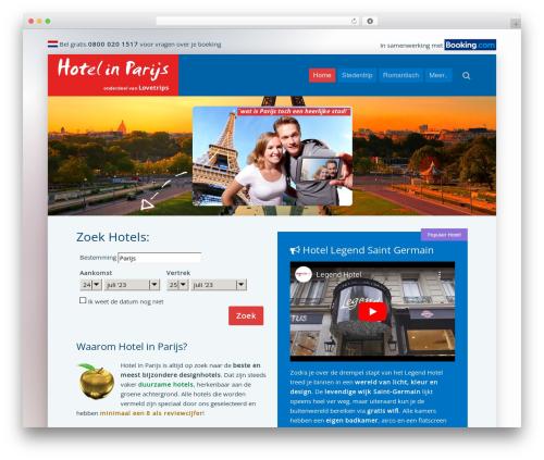 Best WordPress template Lava - hotelinparijs.nl