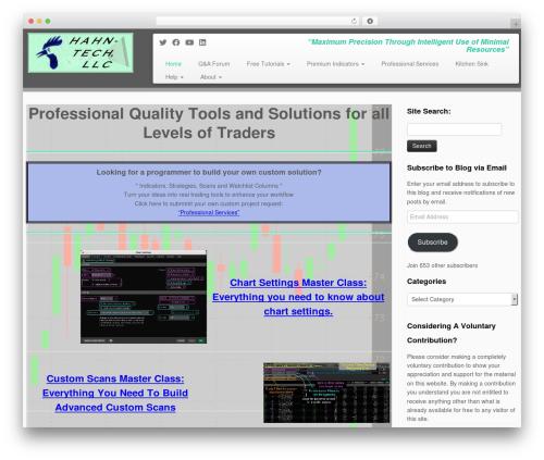 Customizr WordPress video theme - hahn-tech.com