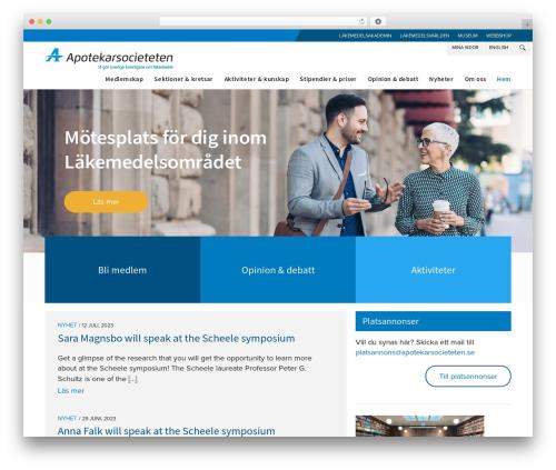 WordPress template Enfold - apotekarsocieteten.se