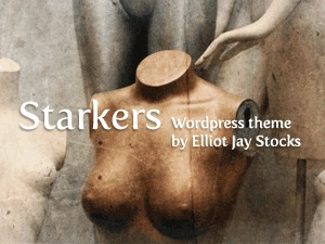 WordPress website template Starkers