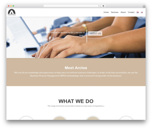 Arctos_zerif WordPress template for business - arctos.hr