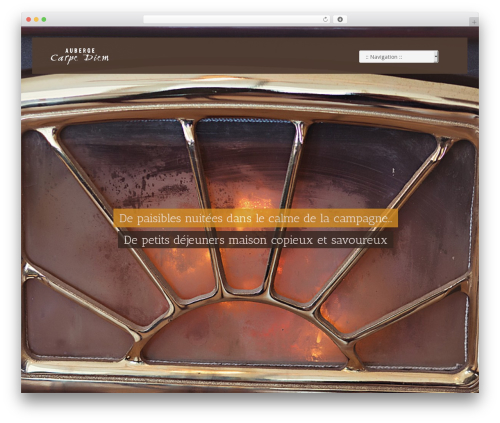 Best WordPress theme Vierra - aubergecarpediem.ca