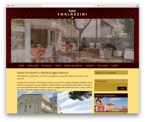 Catalyst top WordPress theme - hotelforlazzini.it