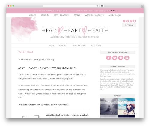 Jasmine - Premium WP template - head-heart-health.com