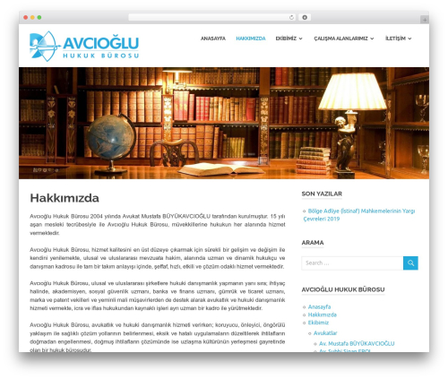 Poseidon WordPress template free download - avciogluhukuk.com