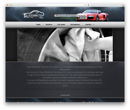 Radial Premium Theme WordPress theme - autoperfectionservices.com