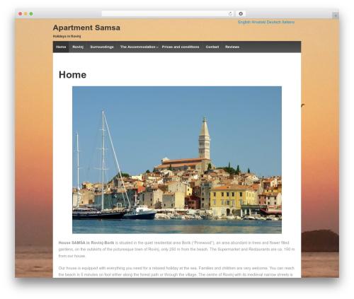 WordPress wpclef plugin - apartment-samsa.com