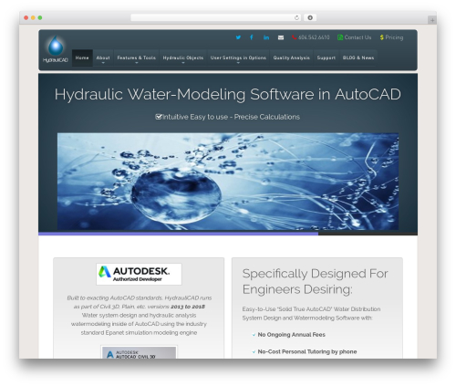 Free WordPress WP-SWFObject plugin - hydraulicad.com