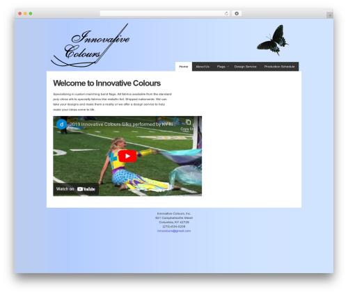 WordPress website template Gantry Theme for WordPress - innovativecolours.com