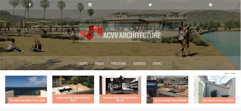 WP theme Oria acvv