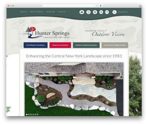 WordPress new-royalslider plugin - hunterspringslandscape.com