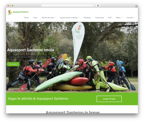 Rambo free website theme - aquasportsanterno.it