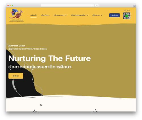 Betheme best WordPress template - australian.co.th