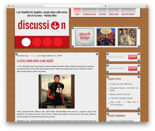 DISCUSSION free WP theme - annacton.com
