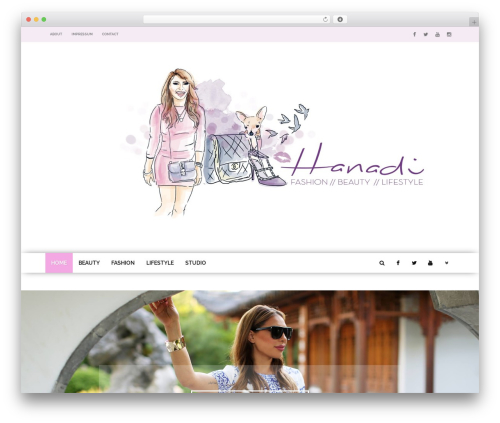 fmagazine newspaper WordPress theme - hanadibeautyblog.de