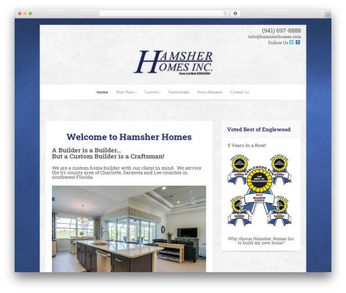 Hamsher WordPress theme - hamsherhomes.com