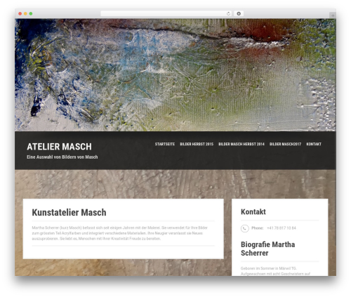 Moesia Pro WordPress theme - atelier-masch.net