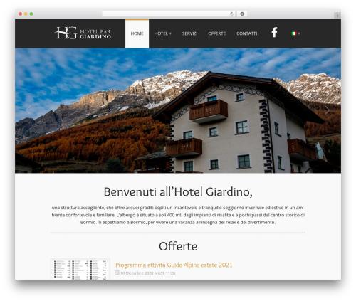 PerSempre WordPress theme - hotelgiardinobormio.it