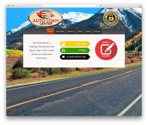 Responsive WordPress theme download - autoloancenter.info
