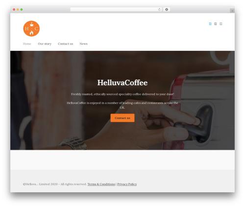 Storefront WordPress ecommerce template - helluvacoffee.co.uk