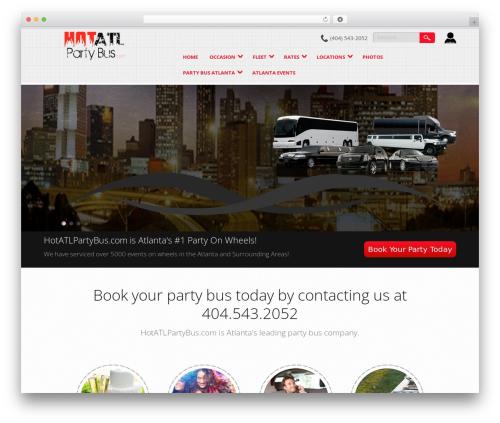 WordPress car plugin - hotatlpartybus.com