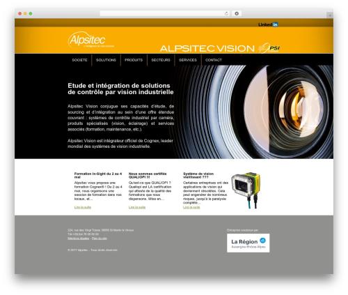 Free WordPress Slick Sitemap plugin - alpsitec-vision.com