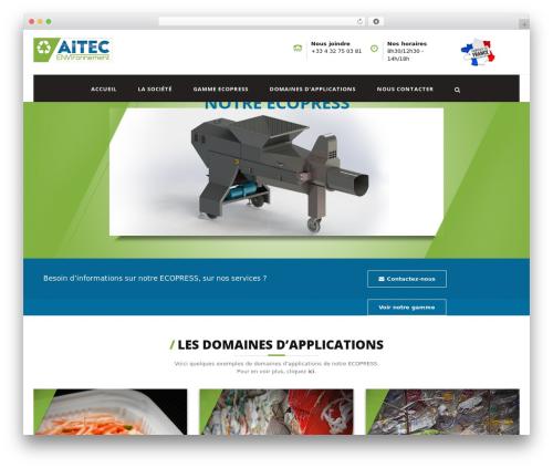 Template WordPress Pikocon - aitec-environnement.com