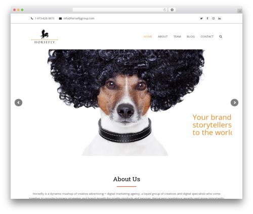 Total best free WordPress theme - horseflygroup.com