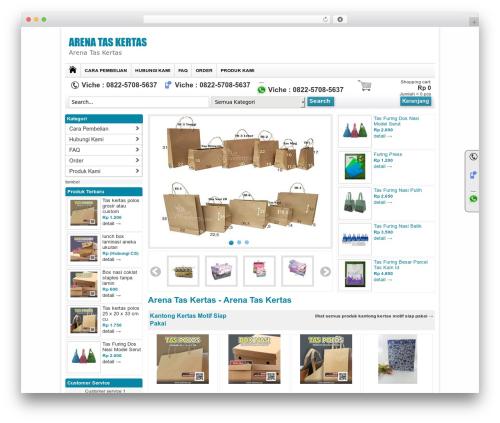 WPGROSIR WordPress theme design - arena-taskertas.com
