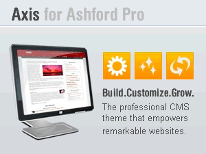 Best WordPress template Axis for Ashford Pro