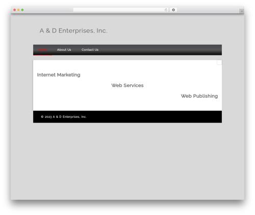 Isquar WP template - andenterprisesinc.com