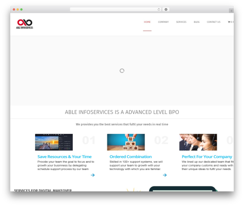 Free WordPress SKT Skill Bar plugin - ableinfoservices.com