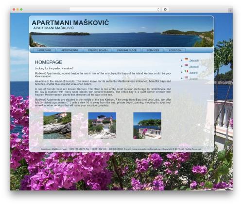 Free WordPress Polylang plugin - apartmani-maskovic.com