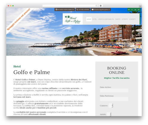 Free WordPress Responsive Menu plugin - hotelgolfoepalme.it