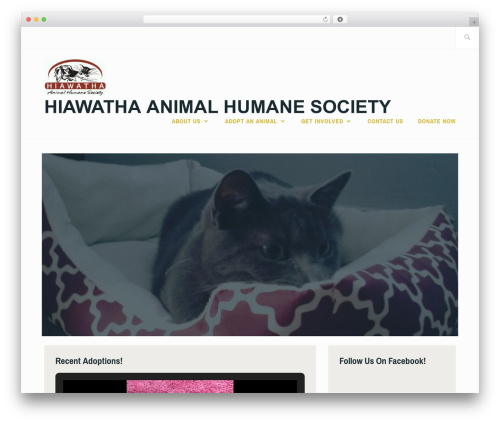 Best WordPress theme Ixion - hahumanesociety.org