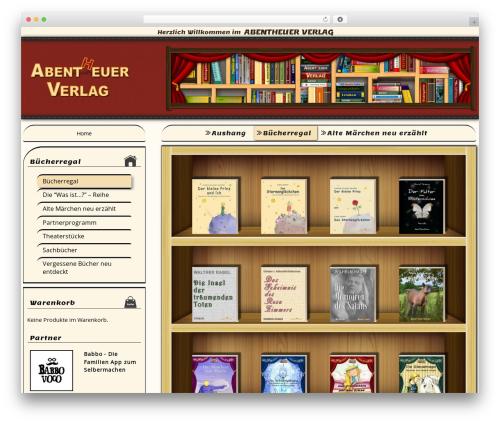 Free WordPress Simplr Registration Form Plus+ plugin - abentheuerverlag.de