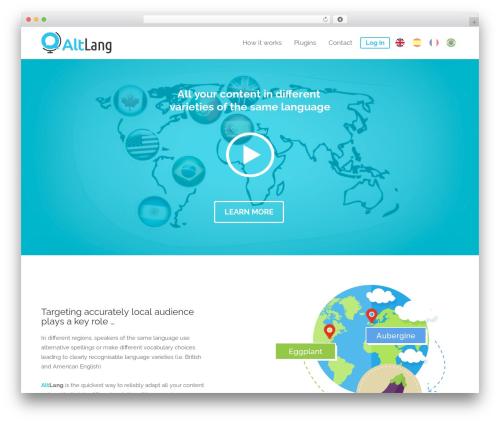 Theme WordPress Divi - altlang.net