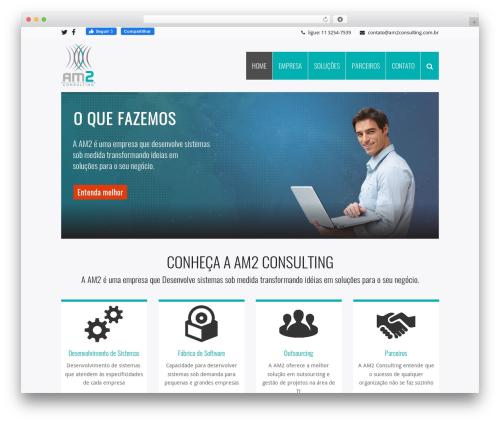 Total (shared on wplocker.com) best WordPress theme - am2consulting.com.br