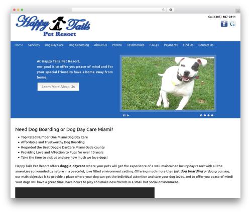 WordPress wp-showcase plugin - happytailsresort.net