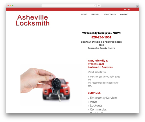 Virtue Premium - Bold theme WordPress - ashevillelocksmithnow.com