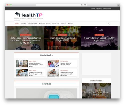 Free WordPress Meks Smart Social Widget plugin - healthtp.com