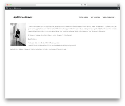 WP template Dendrite - agraves.com