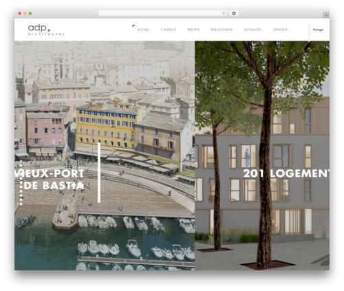WP theme Domik - adp-architectes.com